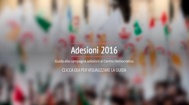 Adesioni 2016