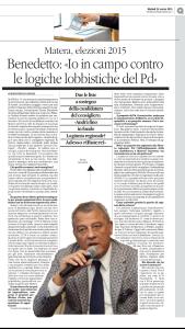 Intervista Benedetto